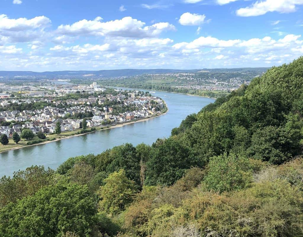 Ausflug nach Koblenz