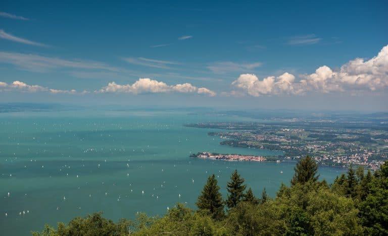 Die größten Seen Deutschlands - Bodensee