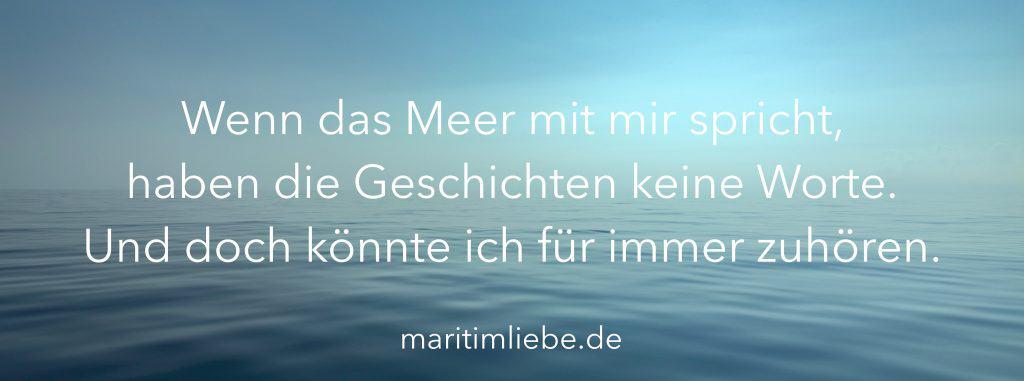Maritime Sprüche - Meersprüche