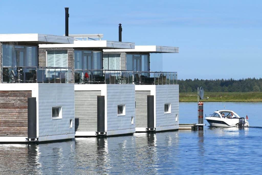 Hausboot - Schwimmende Häuser