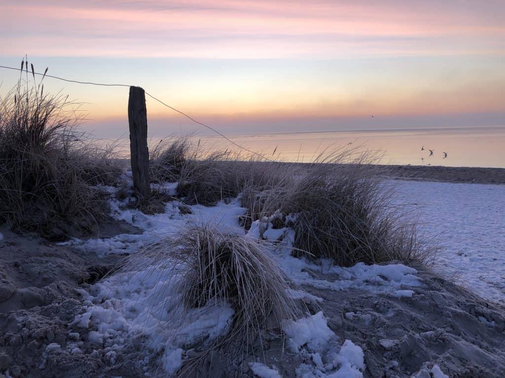Sonnenaufgang an der Ostsee - Morgenröte